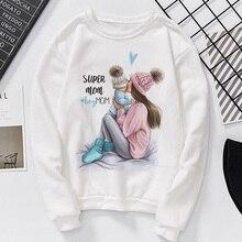 Autumn 2019 Mother's Day Women's Sweatshirt Harajuku Kawaii