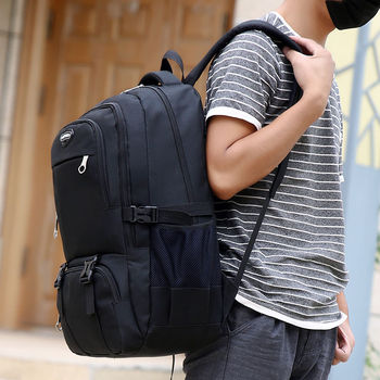 New Men's Backpack Bag Male Oxford Laptop Backpack Computer High School Student College Travel  High Quality Bag Men Hot Sell 2020 new fashion men s backpack bag male polyester laptop backpack computer bags high school student college students bag male