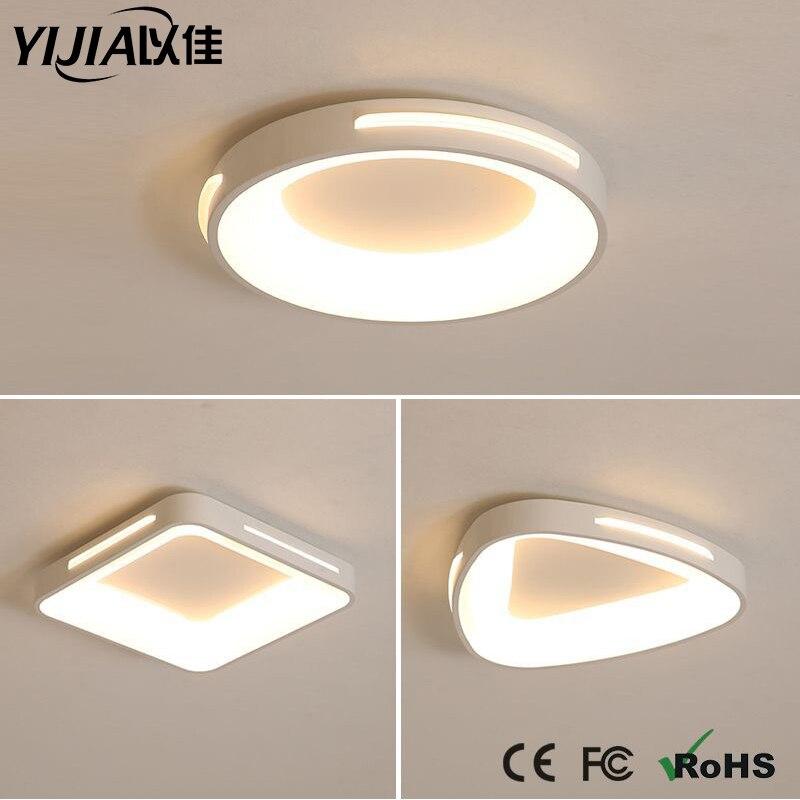 AC 220V 2835 SMD 18LEDs Modern LED Ceiling Light Lamp with Vioce Control White