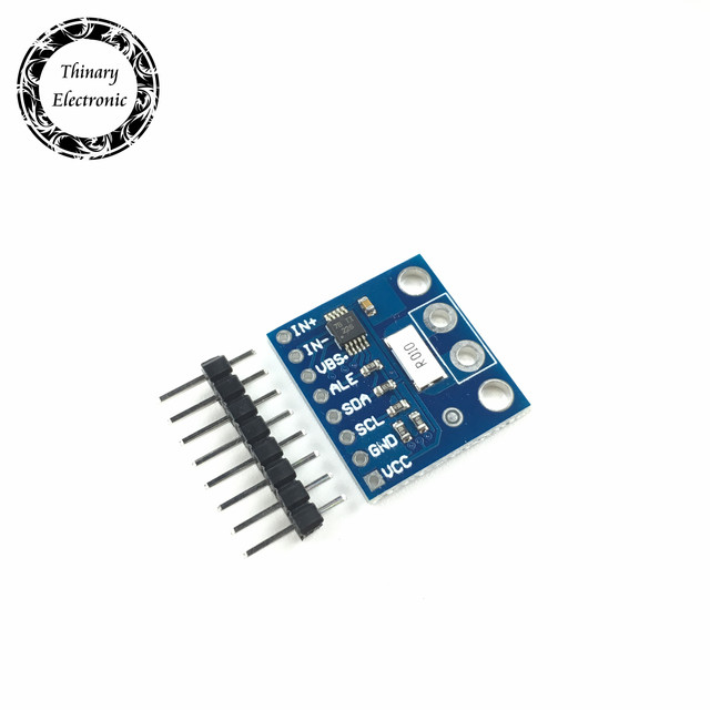 2Pcs INA226 IIC interface Bi directional current/Power monitoring sensor module