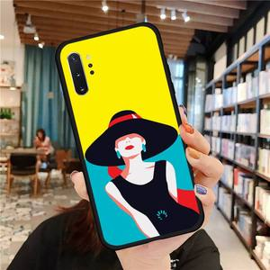 Image 2 - Noble fashion style women Phone Case For Samsung A50 A51 A71 A20E A20S S10 S20 S21 S30 Plus ultra 5G M11 funda cover