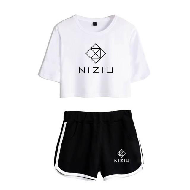 SET NIZIU SHORT + T-SHIRT (24 VARIAN)