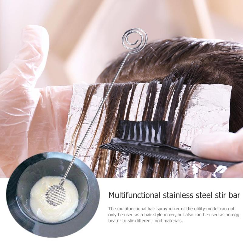 Multifunction Salon Hairdressing Dye Cream Whisk Hair Mixer Barber Stirrer Salon Hair Styling Tool For Hair Coloring