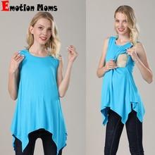Emotion Moms Summer Nursing Top Breastfeeding Tank tops Maternity clothes nursing Vest  For Pregnant Women maternity M-XXL
