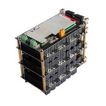 48 فولت 13 ثانية الطاقة الجدار 18650 بطارية حزمة 13S BMS ليثيوم أيون 18650 حامل البطارية BMS PCB لتقوم بها بنفسك Ebike بطارية 13S صندوق بطارية