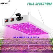 3000 Вт светодиодное освещение для выращивания с samsung 281b