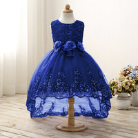 Origional Childrenswear Lace Princess Dress Waist Flower Dress Girls Dress Gauze Tutu Special Offer