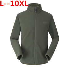 Plus Size 10XL 9XL 8XL 7XL 6XL 5XL 4XL Ons Militaire Man Fleece Tactical Jacket Thermische Ademend Jas Bovenkleding Army kleding(China)