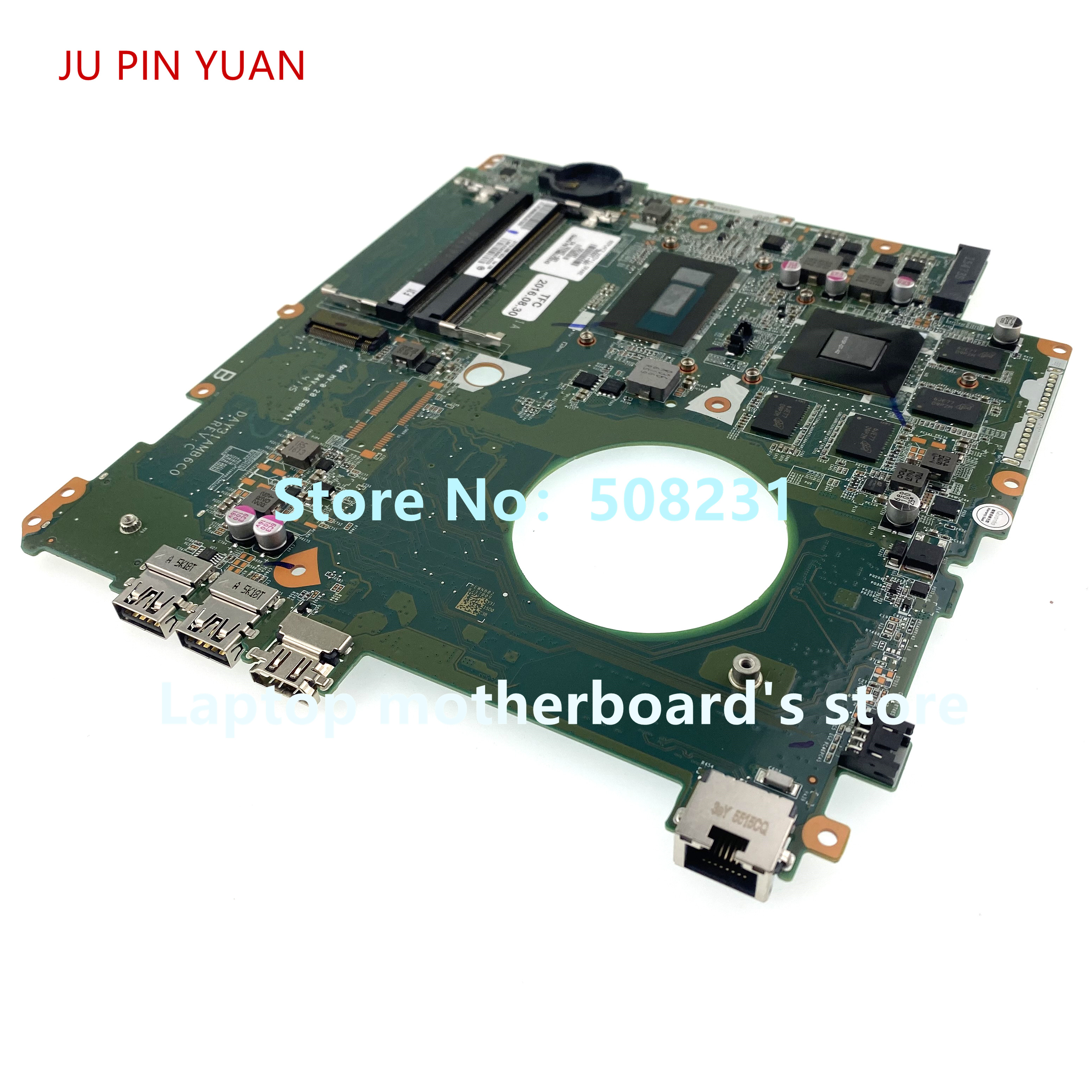 JU PIN YUAN 782621-601 782621-001 782621-501 laptop Motherboard for HP ENVY 17-K 17T-K 850M/4GB with i7-5500U 100% fully Tested