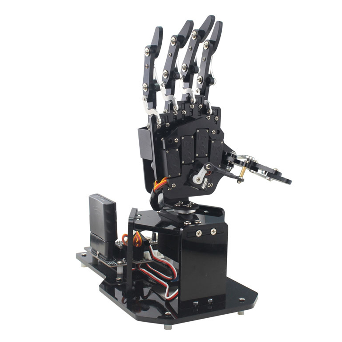 Open Source Robot Palm Bionic Mechanical Palm Sense Maker For Arduino Brain-Training Toy Children Educational Toys Birthday Gift