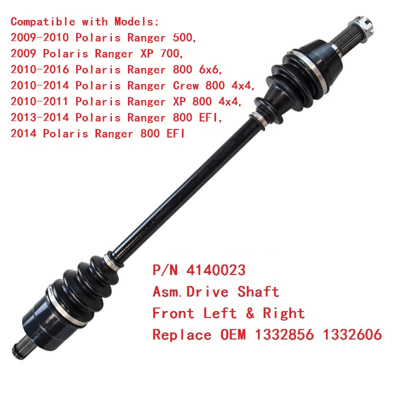 FRONT AXLE INNER CV BOOT KIT Fits POLARIS RANGER CREW 800 4X4 EFI 2010