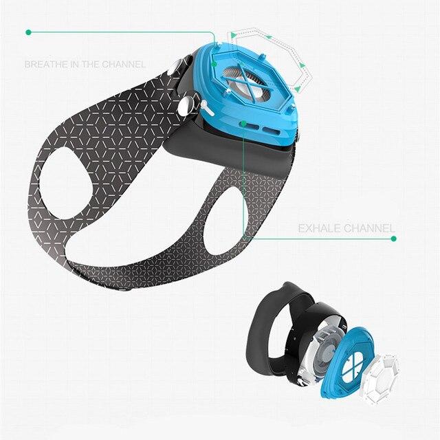 Youpin Hootim Electric Anti-Haze PM2.5 Sterilizing Anion Mask Dustproof Anti-fog Breathable Electric Face Masks 3