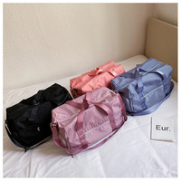 Outdoor Sports Bag With Independent Shoes Pocket Women Men Gym Bags Nylon Dry Wet Separation Fitness Workout Backpack Yoga Case