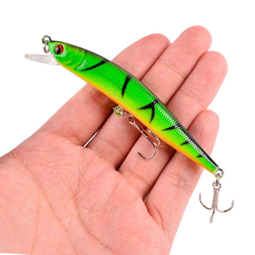 1pcs 8.2g 10cm Fishing Lures Minnow Wobbler Floating Bass Trolling Artificial Hard Bait Crankbait Carp Pesca Fishing Tackle