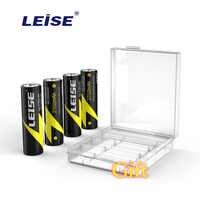 Batería recargable LEISE AA 2700mah Nimh de 1,2 v con batería recargable, baterías de 2a NI-MH para juguetes RC, micrófono de ratón