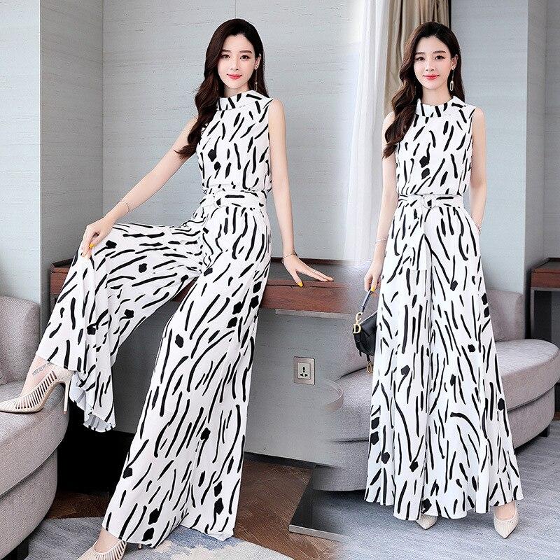 Versitile Fashion Set 2019 Summer Trend Simple