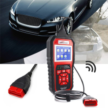 KW850 OBDII Auto Diagnostic Scanner Universal EOBD Car Diagnostic Tool EOBD Check Engine Automotive Car Code Reader RED galletto 1260 ecu remap flasher tool eobd 2 obdii obd