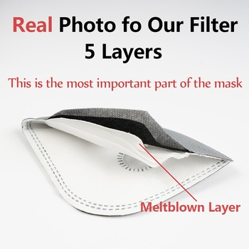 Shipping To USA Running Cycling Dust Filter Activated Carbon Filter Windproof Dust-Proof Lightweight Outdoor Sports Bibs