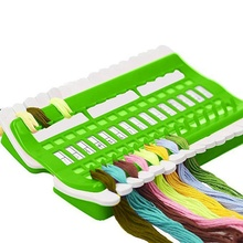 DIY 3 color cross stitch line tool set sewing needl