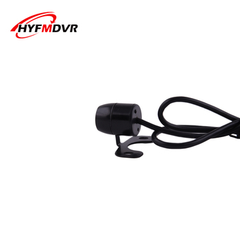 Car reversing camera small butterfly plug - in adjustable car rear view hd waterproof camera front and rear Video monitoring image