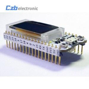Image 3 - ESP32 0.96 אינץ כחול OLED תצוגת Bluetooth WIFI לורה ערכת 32 מודול אינטרנט פיתוח לוח לarduino