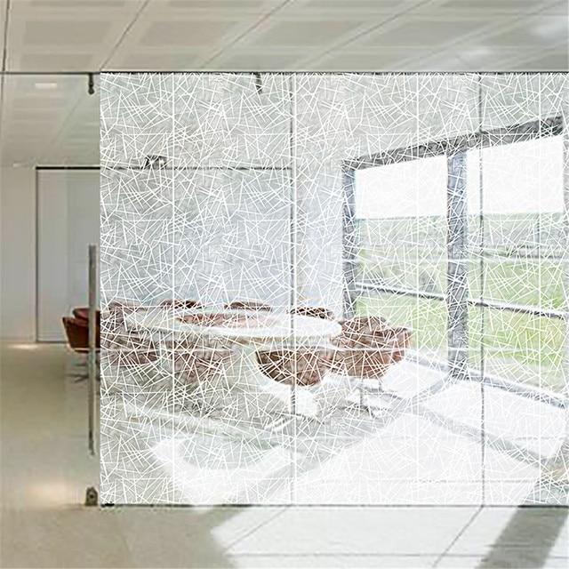 Window Film Static Privacy Decoration Self Adhesive for UV Blocking Heat Control Vinyl Window Glass Stickers 2