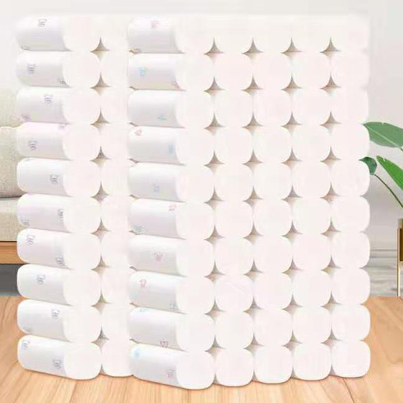 1 Roll Cartoon Toilet Paper 5 Layers Bathroom Tissue Comfortable Home Bath Toilet Roll Papers Toilet Paper