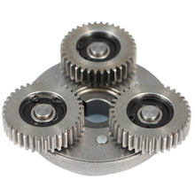 36 Tooth Steel Gear Electric Vehicle Brushless Motorcycle Gear Bearing One-Way Clutch Assembly цена