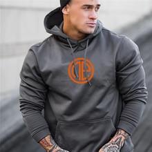 Herenmode Fitness Jas Singlets Sweatshirts Mens Hoodies Stringer Bodybuilding Fitness Shirts Geschikt Voor Herfst