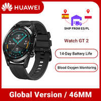 Global Version Huawei Watch GT 2 GT2 Smart watch blood oxygen GPS Waterproof Phone Call Heart Rate Tracker For Android iOS
