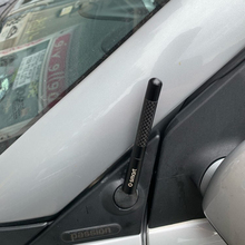 Case Car-Styling-Accessories Forfour Smart-Fortwo Antenna-Cover Carbon-Fiber FM 12cm