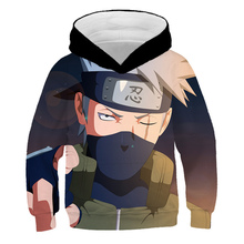 2 To 14 Years Kids Hoodies Naruto Uzumaki 3d Printed Boys Girls Hoodie Uchiha Itachi Cartoon Sweatshirt Casual Children Clothes