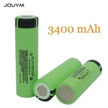 Oryginalna bateria JOUYM 18650 NCR18650B 3 7 v 3400mah 18650 akumulator litowo-jonowy tanie tanio 3400mamah Li-Ion Baterie Tylko 1 pcs