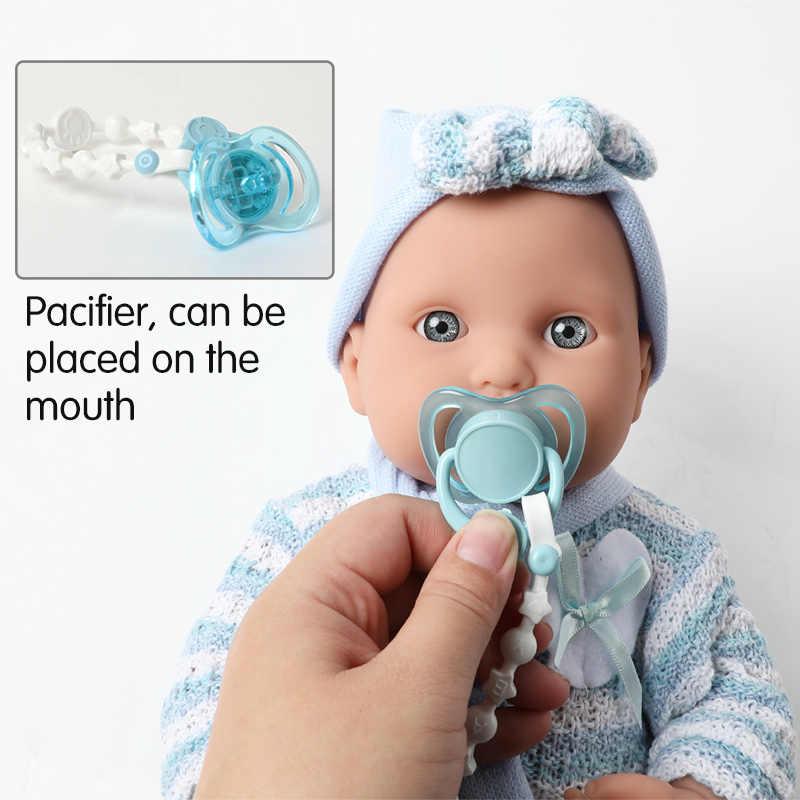 40 ซม.Full Body Soft ซิลิโคน Reborn ตุ๊กตาเด็กชุดของเล่น 16 นิ้ว Boneca กันน้ำที่สมจริงทารกแรกเกิด Bebe ตุ๊กตาสำหรับของเล่นเด็ก