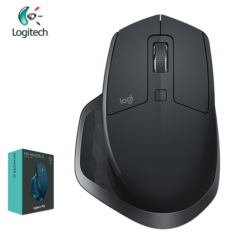 Logitech MX Master 2S Mouse 4000DPI New Possibility Machine With Fast Recharging Easy-Switch Mice For Windows Mac OS Linux