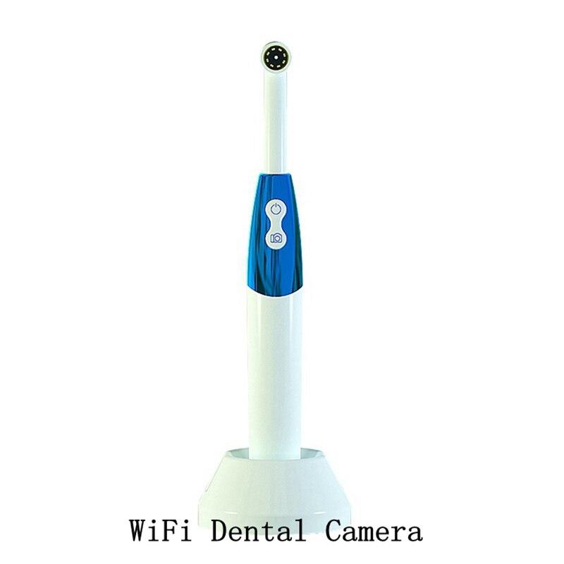 Inspeção de Dente de Luz para Dentista Oral em Tempo Wifi Câmera Dental Telefone Intraoral Endoscópio Led Intra Real Vídeo Ferramentas hd