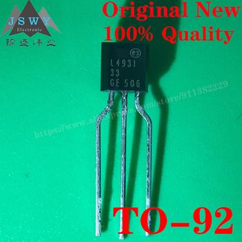 L4931CZ33 TO92 Semiconductoro zarządzanie energią IC Regulator niskiego napięcia IC wykorzystanie dla modułu arduino nano darmowa wysyłka tanie i dobre opinie CN (pochodzenie) Nowy REGULATOR NAPIĘCIA do komputera - 40 C~ + 125 C International standard TO-92-3