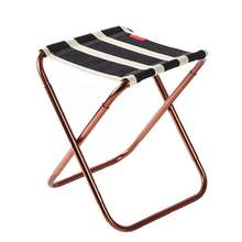 Складной стул mazar из алюминиевого сплава портативный для барбекю