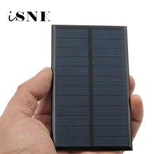 Diy Mini Zonnecel 6V 1 2 3 5 6 10 W Draagbare Module Batterijen Power Systeem Voor Batterij mobiele Telefoon Opladers Draagbare 6VDC
