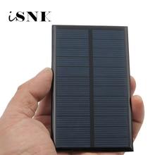 Mini célula Solar portátil, sistema de energía de las baterías para cargadores de teléfonos móviles, 6V, 1, 2, 3, 5, 6 y 10 W, 6VDC