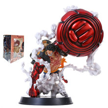 Anime One Piece figurine Monkey D Luffy fourth Big fist Ver. PVC action figure Collection model toys kid gift