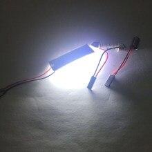 Auto domek z podświetleniem LED lampa lampa COB pokładzie T10 podwójna końcówka 18 24 36 48 lampa Led lampa dachowa