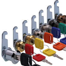 Multicolor Cam Cylinder Locks Door Cabinet Mailbox Drawer Cupboard Locker Security Furniture Lock With Key Safety Tools Hardware