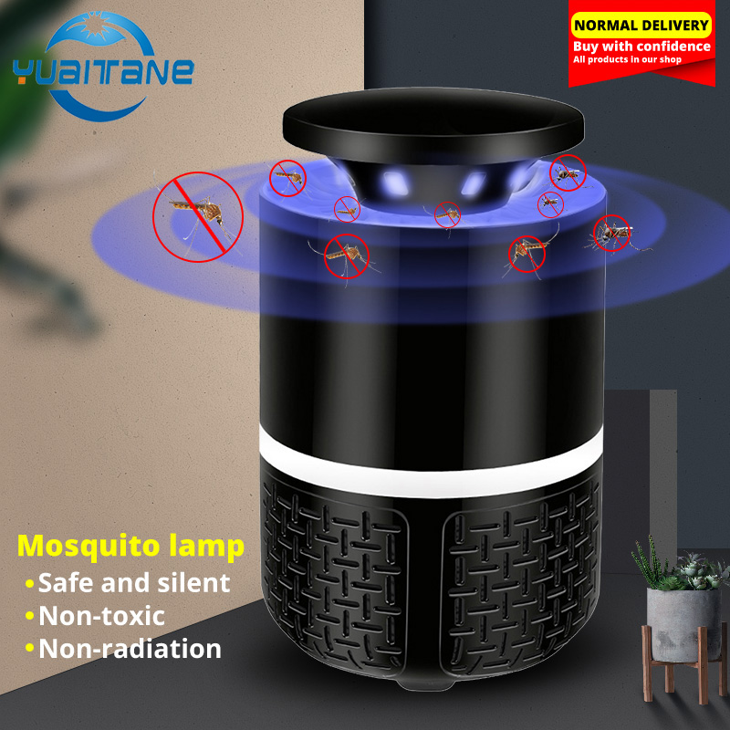 Mosquito Killer USB Electric Mosquito Killer UV Lamp Photocatalysis Mute Home Trap LED Bug Zapper Insect Trap Radiationless