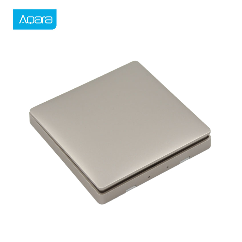 Aqara Smart Wireless Switch Light Remote Control ZiGBee Wifi Wireless Key Wall Switch Work For Mijia Mi Home APP Smart Switch