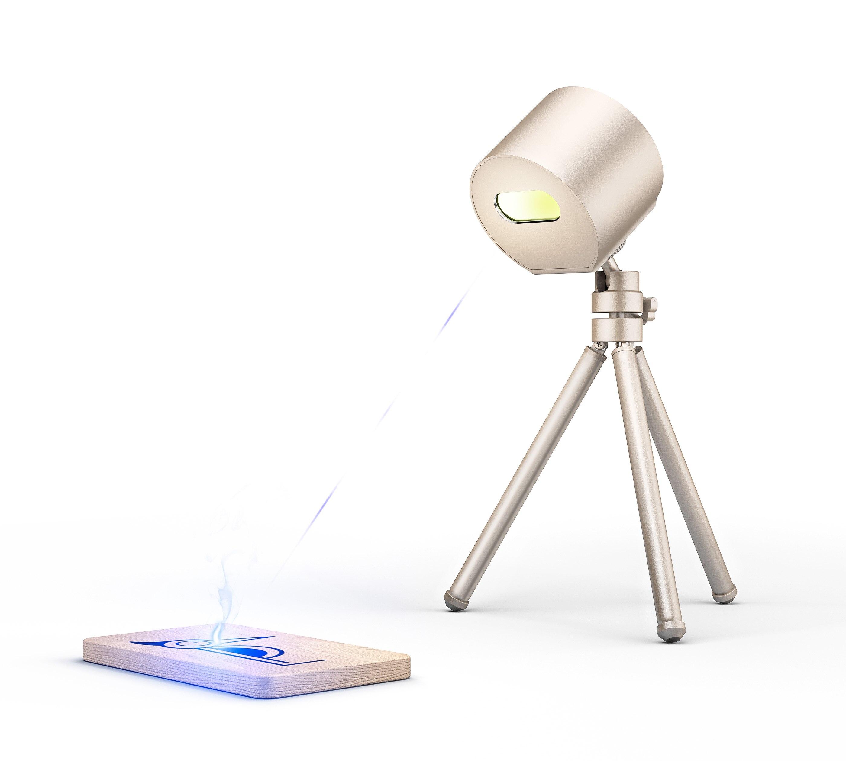 Creative Mini Laser Engraver Diy Portable Adjustable Laser Engraving Machine for Leather Wood Plastic Paper Mobile Phone APP