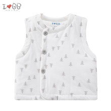 Winter Warm Vest Unisex Baby Boys Outwear Soft Cotton 100% Girls Clothing Christmas(China)