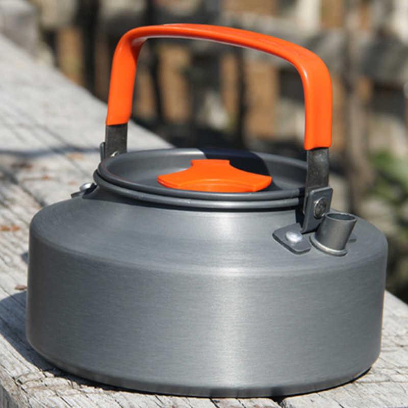 Tiartisan 1.1L キャンプケトル屋外コーヒーケトルキャンプ食器旅行食器屋外ピクニックセット RC324