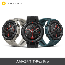 Amazfit Trex Pro Smartwatch GPS/GLONASS Music Control 10ATM Waterproof AMOLED Display for Android Ios Phone
