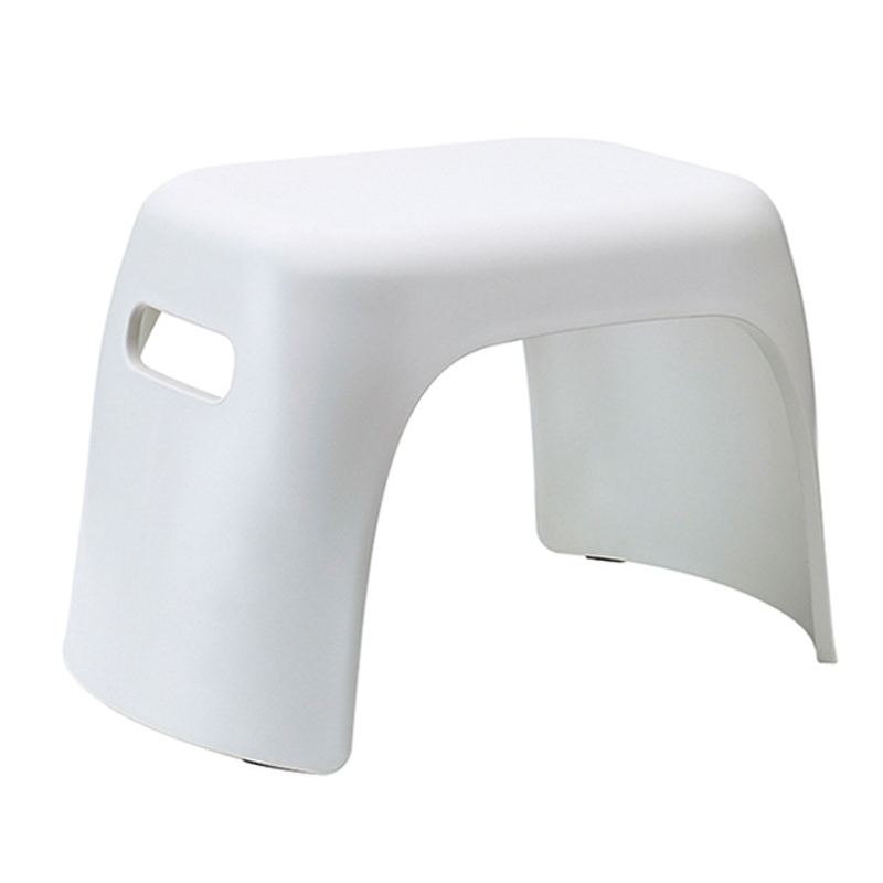HHO-Thick Plastic Small Stool Bathroom Anti-Slip Stool Home Change Shoes Square Stool Children Bath Hand Wash Small Bench